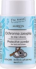 Духи, Парфюмерия, косметика Защитная пудра для ног и обуви с эвкалиптовым маслом и ментолом - Marion Dr Koala Protective Powder
