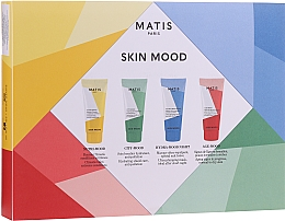 Духи, Парфюмерия, косметика Набор - Matis Responce Preventive Skin Mood Set (b/balm/50ml + f/cr/20ml + f/essence/20ml + f/mask/20ml)