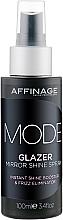 Духи, Парфюмерия, косметика Зеркальный блеск для волос - Affinage Mode Glazer Mirror Shine Spray