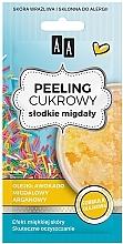 Духи, Парфюмерия, косметика Сахарный пилинг для лица с маслом сладкого миндаля - AA Sugar Scrub Sweet Almonds Oil Peeling