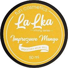 """Духи, Парфюмерия, косметика Блестящий крем-мусс для тела """"Чудесный манго"""" - Lalka"""