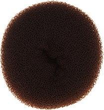 Духи, Парфюмерия, косметика Валик для прически, 15х6.5 см, коричневый - Ronney Professional Hair Bun 053
