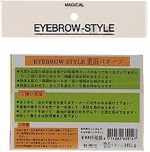 Трафарет для бровей, размер А1, А2, А3, А4 - Magical Eyebrow Style — фото N2