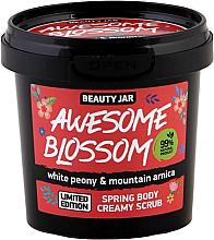 Духи, Парфюмерия, косметика Кремовый скраб тела - Beauty Jar Awesome Blossom Spring Body Creamy Scrub