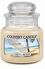 Духи, Парфюмерия, косметика Ароматическая свеча в банке - Country Candle Life's A Beach