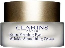 Духи, Парфюмерия, косметика Омолаживающий бальзам для кожи вокруг глаз - Clarins Extra Firming Eye Wrinkle Smooting Cream