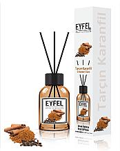 "Духи, Парфюмерия, косметика Аромадиффузор ""Корица и гвоздика"" - Eyfel Perfume Reed Diffuser Cinnamon Clove"