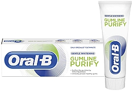 Зубная паста - Oral-B Gumline Purify Gentle Whitening Toothpaste — фото N1