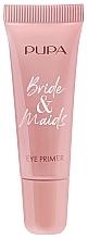 Духи, Парфюмерия, косметика Осветляющая основа для глаз перед макияжем - Pupa Bride & Maids Eye Primer