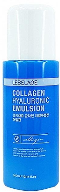 Коллагеновая эмульсия для лица - Lebelage Collagen Hyaluronic Emulsion — фото N1