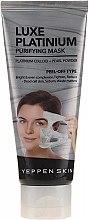 Духи, Парфюмерия, косметика Маска-пленка, выравнивающая тон с коллоидной платиной - Yeppen Skin Purifying Mask Luxe Platinum Peel-off