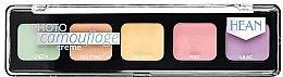 Духи, Парфюмерия, косметика Палитра кремовых консилеров - Hean Photo Camouflage Cream Concealer Palette