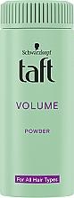 """Духи, Парфюмерия, косметика Стайлинг-пудра для волос """"Мгновенный объем"""" - Schwarzkopf Taft Volumen Powder"""