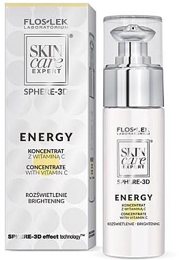 Набор - Floslek Skin Care Expert Energy (cream/10.5g+serum/30ml) — фото N3