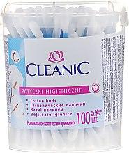 "Духи, Парфюмерия, косметика Ватные палочки ""Classic"", 100 шт - Cleanic Face Care Cotton Buds"