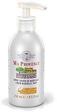 "Духи, Парфюмерия, косметика Жидкое Марсельское мыло ""Апельсин"" - Ma Provence Liquid Marseille Soap Orange"