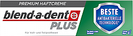 Духи, Парфюмерия, косметика Крем для фиксации зубных протезов - Blend-A-Dent Premium Adhesive Cream Plus Dual Protection Fresh