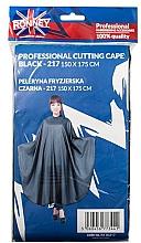 Духи, Парфюмерия, косметика Парикмахерская накидка, черная - Ronney Professional Cutting Cape