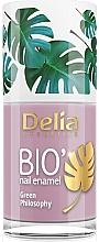 Духи, Парфюмерия, косметика Лак для ногтей - Delia Cosmetics Bio Green Philosophy