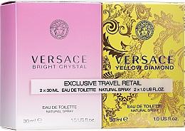 Духи, Парфюмерия, косметика Versace Bright Crystal - Набор (edt/30ml + edt/30ml)