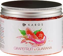 Духи, Парфюмерия, косметика Сахарный пилинг для тела - Kabos Grapefruit & Guarana Sugar Peeling