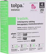 Духи, Парфюмерия, косметика 4-х шаговый уход против несовершенств кожи - Tolpa Estetic 4 Step Intensive Treatment Care