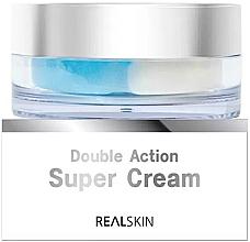Духи, Парфюмерия, косметика Крем для лица - Real Skin Double Action Super Cream