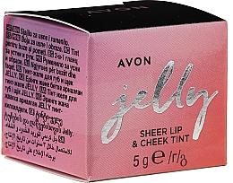 Духи, Парфюмерия, косметика Тинт-желе для губ и щек - Avon Jelly Sheer Lip & Cheek Tint