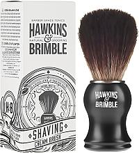 Духи, Парфюмерия, косметика Помазок для бритья с синтетической щетиной - Hawkins & Brimble Synthetic Shaving Brush