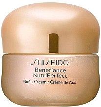 Духи, Парфюмерия, косметика Ночной крем для лица - Shiseido Benefiance NutriPerfect Night Cream