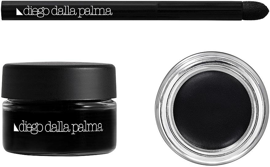 Водостойкий карандаш-каял для глаз - Diego Dalla Palma Makeup Studio Oriental Kajal Waterproof — фото N1