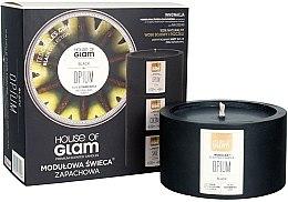 Духи, Парфюмерия, косметика Ароматическая свеча - House of Glam Black Opium Candle