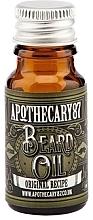 Духи, Парфюмерия, косметика Масло для бороды - Apothecary 87 Original Recipe Beard Oil