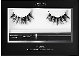 Духи, Парфюмерия, косметика Набор - Oriflame The One Magnetic Lash and Eyeliner Kit (lashes + eyeliner/2.5ml)