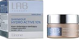 Духи, Парфюмерия, косметика Кислородный увлажняющий дневной крем для лица - Lirene Lab Therapy Moisture Shikimique Hydro Active 10% Cream SPF15