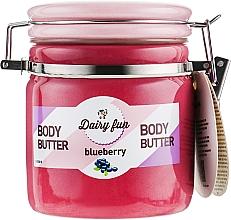 Духи, Парфюмерия, косметика Масло для тела, черника - Delia Dairy Fun Body Butte
