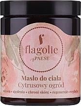 "Духи, Парфюмерия, косметика Масло для тела ""Цитрусовый сад"" - Flagolie by Paese Citrus Garden"