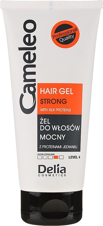 Гель для волос сильной фиксации - Delia Cosmetics Cameleo Hair Gel Strong — фото N1