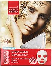 Духи, Парфюмерия, косметика Маска для лица с улиткой - Czyste Piekno Bosca Snail Face Mask