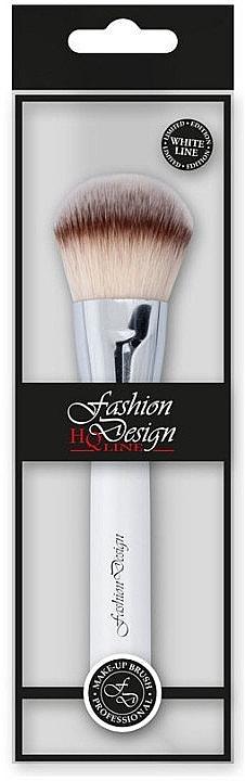 Кисть для пудры, 37177 - Top Choice Fashion Design White Line — фото N1