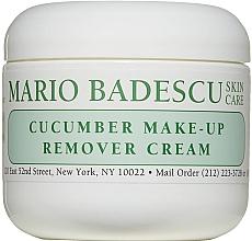 Духи, Парфюмерия, косметика Крем для снятия макияжа - Mario Badescu Cucumber Make-up Remover Cream