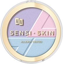 Духи, Парфюмерия, косметика Средство для контурирования лица 3в1 - AA Sensi Skin 3In1 Holographic Set