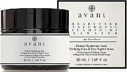 Духи, Парфюмерия, косметика Ночной крем с гиалуроновой кислотой - Avant Skincare Deluxe Hyaluronic Acid Night Cream