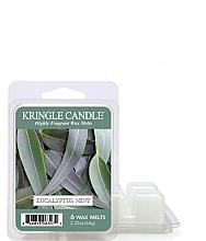 Духи, Парфюмерия, косметика Ароматический воск - Kringle Candle Eucalyptus Mint Wax Melt