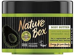 Духи, Парфюмерия, косметика Масло для тела - Nature Box Avocado Oil Body Butter