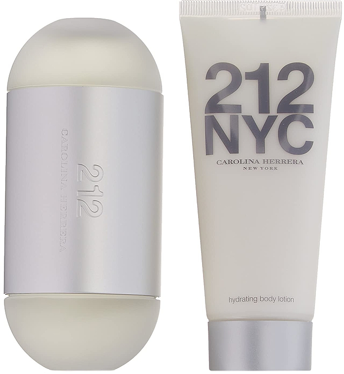 Carolina Herrera 212 NYC - Набор (edt/100ml + edt/10ml + b/lot/75ml) — фото N4