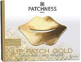 Духи, Парфюмерия, косметика Патчи для губ - Patchness Lip Patch Gold