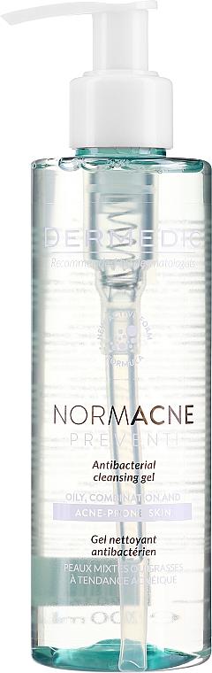 Гель для лица - Dermedic Normacne Antibacterial Cleansing Facial Gel — фото N1