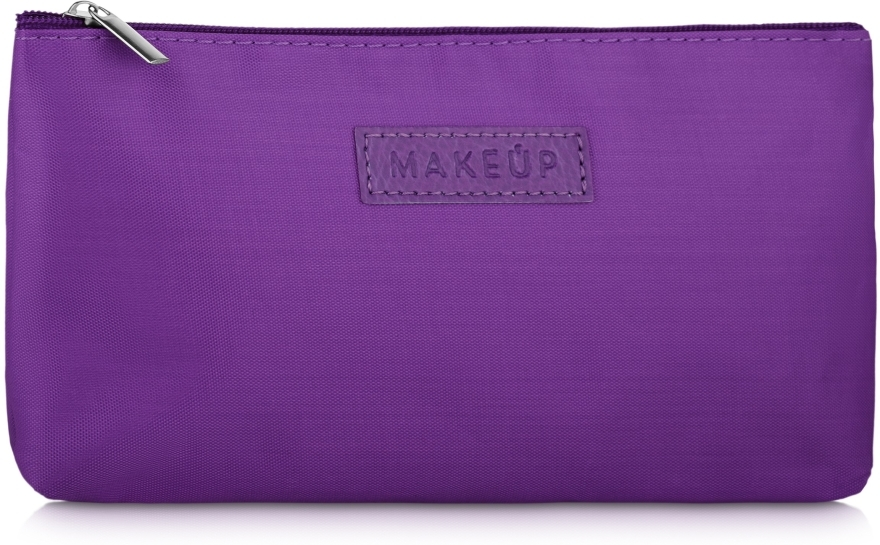 "Косметичка плоская, фиолетовая ""Girl's Travel"" - MakeUp — фото N1"