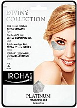 Духи, Парфюмерия, косметика Патчи под глаза - Iroha Nature Platinum Patches Extra Glowing Eyes